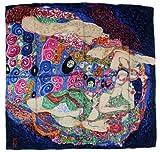 Nella-Mode bezauberndes SEIDENTUCH Seidenschal nach Gustav Klimt