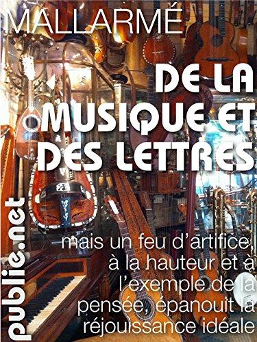 """De la musique et des lettres: la célèbre conférence de Mallarmé à Oxford: """"On a touché au vers."""""""