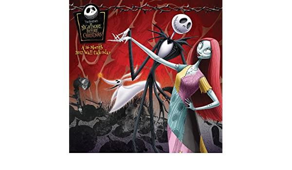 The Nightmare Before Christmas Wall Calendar: Amazon.co.uk: Tim ...