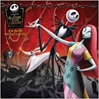 Buy Tim Burton's The Nightmare Before Christmas 2012 Calendar Book ...