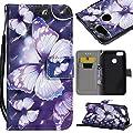 JAWSEU JBGMX000140-All Huawei P9 Lite Mini Etui Portefeuille en Cuir par JAWSEU