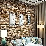 BZDHWWH Künstliches Kultur-Steinwand-Papier-Design, Das Auf Die Produktion Von Tapeten-Wandbildern Sich Spezialisiert,170Cm (H) X 255Cm (W)