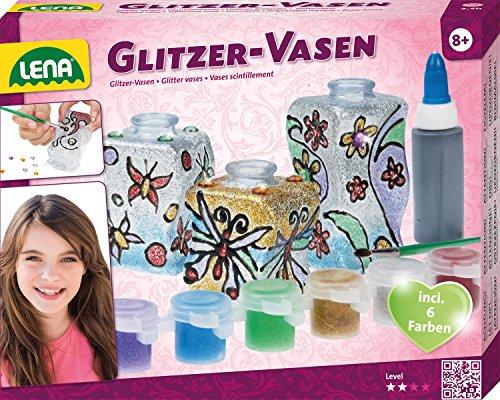 Lena 42693 Bastelset Glitzer - Vasen