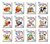 Best Book   Year Old - Colouring Books Collections by InIkao (12 Books) Review