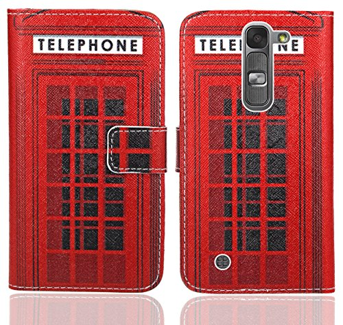 LG Magna / LG G4C Handy Tasche, FoneExpert® Wallet Case Flip Cover Hüllen Etui Ledertasche Lederhülle Premium Schutzhülle für LG Magna / LG G4C (Pattern 12)