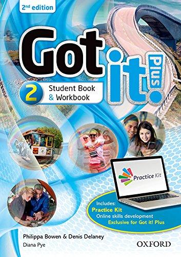 Got It! Plus (2nd Edition) 2. Studen's Book + Workbook with CD Pack (Got It Second Edition) por Philippa Bowen