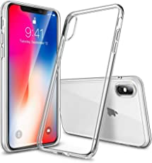 Sintron iPhone X/10 Klar Hülle - Durchsichtig Klar Hülle Weich Leicht Schutzhülle, Clear Case Ultra Slim Crystal Fully Transparent, Shock Absorption, Flexible Durable, Scratch and Smudge Resistant, TPU Environmental Protection Material, für iPhone X/10, 24-Hour Customer Support, 30-Day Money Back Guaranteed
