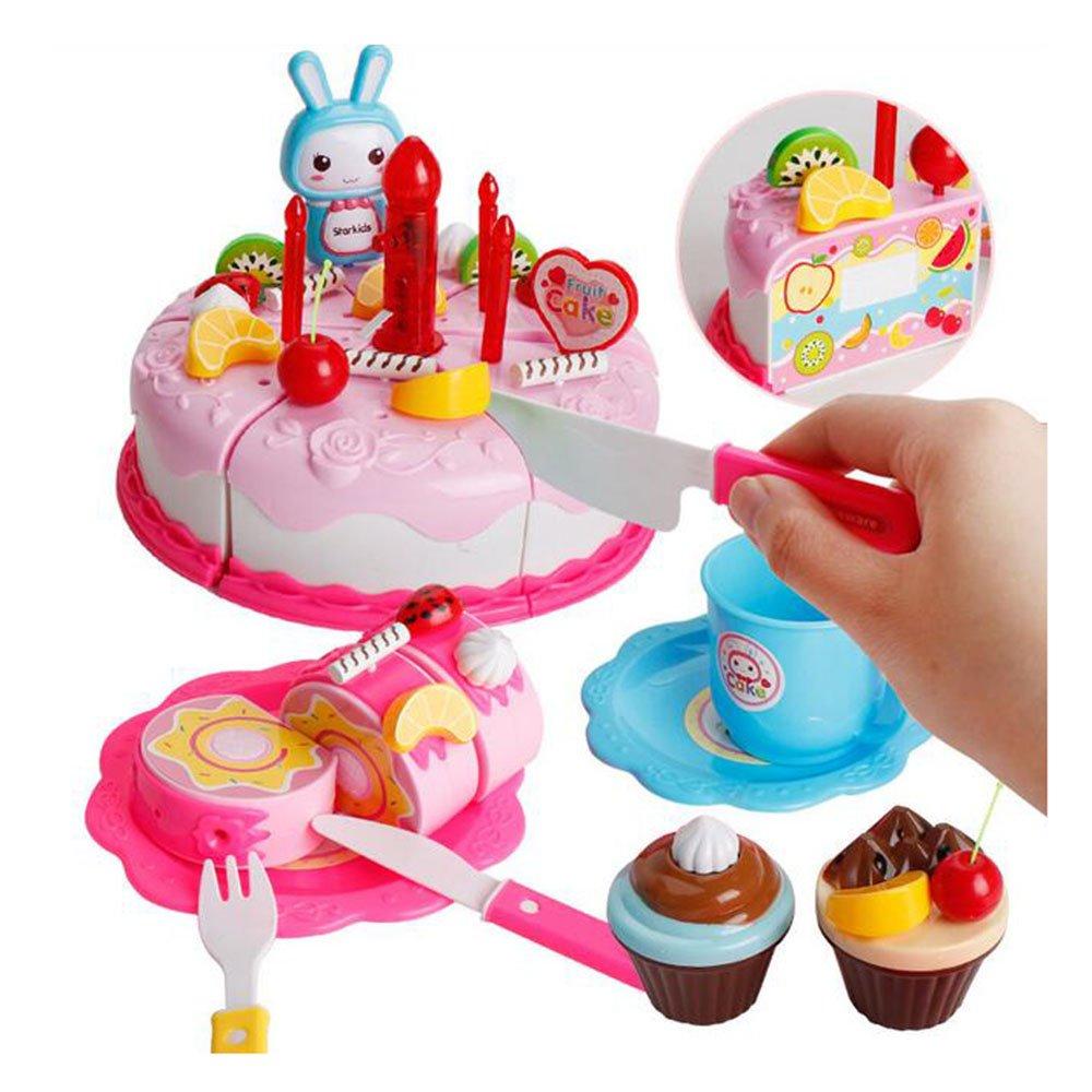 Plegable Imitación Set Cfzhang Portátil Regalos Toys Tipo Mobiliario Juego Pastel Juguete Niños Navideños Accesorios Bebes Tus Cocina Para ZkuPXi