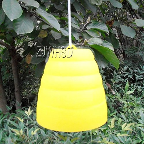 yellow-jacket-beehive-shaped-wasp-hornet-fly-insect-trap-bee-attract-catcher-abbott