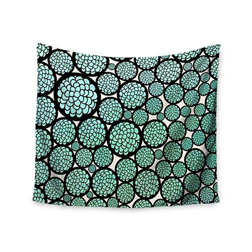 kess-cmy-51-x-60-fioritura-alberi-pom-graphic-design-turchese-cerchi-collegio-dorm-room-da-parete