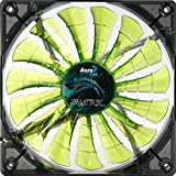 AeroCool Shark Series Ventilateur PC 120 mm Vert
