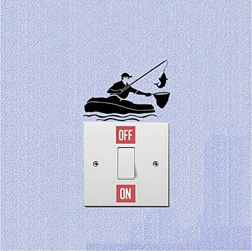 �ten Vinyl Lichtschalter Aufkleber Wandaufkleber ()