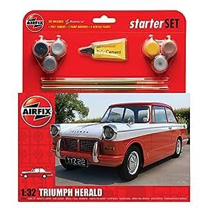 Airfix - A55201 - Maquette - Starter Set Med Triumph Herald