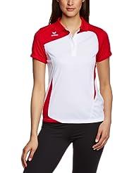 erima Poloshirt Club 1900 - Polo para mujer ( mujer ) , color blanco / rojo, talla 38
