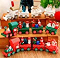 Wooden Santa Express Christmas Decoration Train Decoration Or Childrens Toy