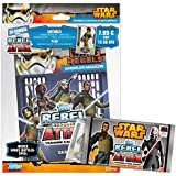 Topps TO01029-DE - Trading Card Game - Star Wars Rebel Attax Starter Set, alemán