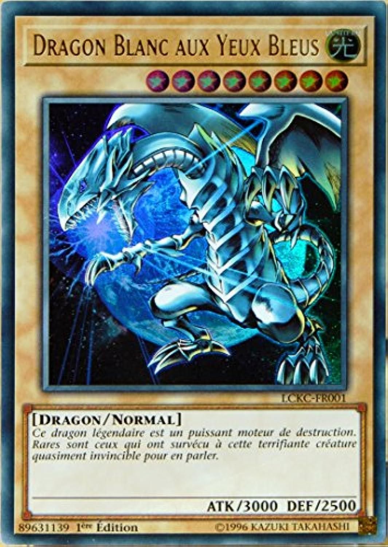 Carte Yu Gi Oh Lckc Fr001 D Dragon Blanc Aux Yeux Bleus