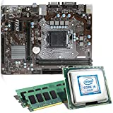 Intel Core i5-7500 / MSI H110M Pro-VD / 16GB Mainboard Bundle | CSL PC Aufrüstkit | Intel Core i5-7500 4x 3400 MHz, 16GB RAM, Intel HD Graphics 630, LAN, 7.1 Sound, USB 3.1 | Aufrüstset | PC Tuning
