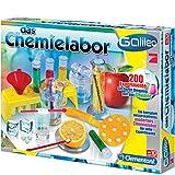 #0618 Galileo Das Chemielabor mit viel Zubehörteile, für Kinder ab 8 Jahren • Chemie Labor Physik Lern Experimentier Set Kasten