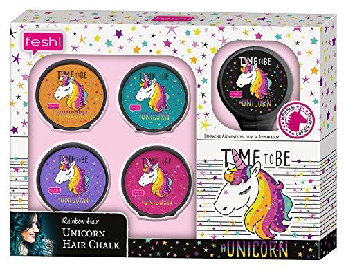 fesh! Rainbow Hair ‒ Unicorn Hair Chalk, 5 Stück
