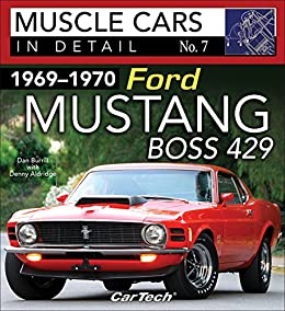1969 1970 Ford Mustang Boss 429 Muscle Cars In Detail No 7