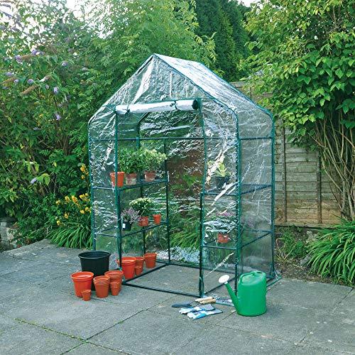 Plantar Invernadero Recambio funda PVC Exterior Pl/ástico Invernadero Funda