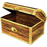 Treasure Chest Box Party Accessory (1 count) (1/Pkg) by Beistle