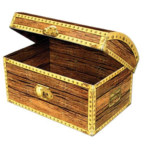 Beistle 50356 Schatztruhe Box, 11-3/4-Zoll von 8-Zoll