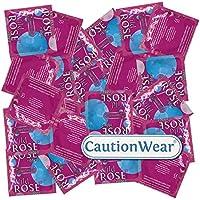 CautionWear Wild Rose - 50 Kondome mit Rippen preisvergleich bei billige-tabletten.eu