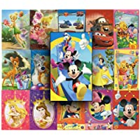 Great value DISNEY greetings cards. Pack of 16. Ideal for birthday, thank you cards and other occasions