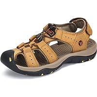 Sandali de Passeggio Regolabile Suede Fibbia Velcro Estate Uomo Scarpe da Acqua Spiaggia All'aperto Traspirante Non Slip…