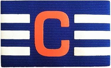 Kinbelle Armband multi colore regolabile da calcio fascia da capitano