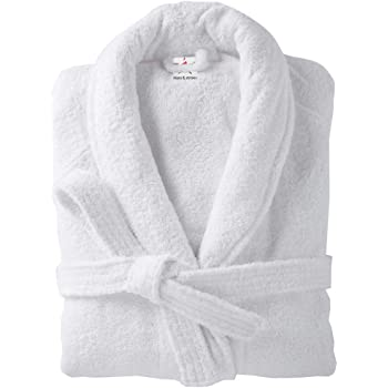 Terry Towelling Bathrobes 100% cotton in 2 sizes Plain Bath robes in 9  colours 802a0d7bd