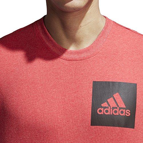 Adidas Essentials Chest Logo Camiseta Bianco