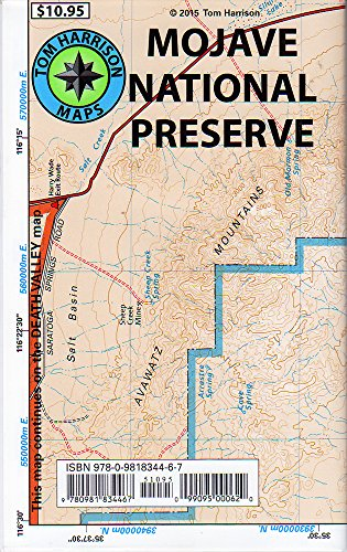 Mojave National Preserve Recreation Map (Tom Harrison Maps) por Tom Harrison