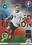 Mario Götze Deutschland Classic Limited Edition Panini Adrenalyn XL EURO 2016 Sammelkarte Tradingcard Karte Card Checkliste