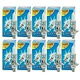 ECD Germany 10 x H1 Halogen Birnen 12V 55W Mit E4 Zulassung Glühbirnen Glühlampen Autolampe Lampe Scheinwerferlampe KFZ