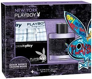 Playboy New York EdT 50ml und Boxershorts, 1er Pack (1 x 280 g)