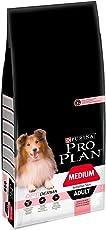 Purina Pro Plan Dog Hundetrockenfutter, Sensitive Skin, mit Optiderma, Reich an Lachs, Medium Adult, Beutel
