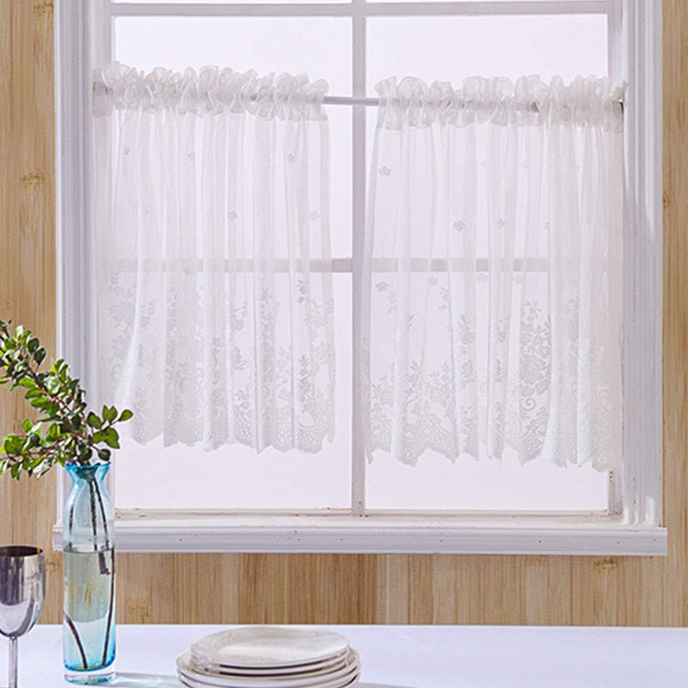 Ideal Textiles - Tenda per finestra da cucina, in morbido pizzo ...