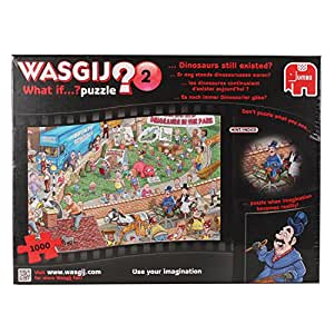 Wasgij What if...Dinosaurs Still Existed Jigsaw Puzzle (1000 Pieces)