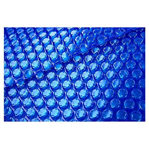 SL247 Pool Solarplane Blau für Swimmingpool mit 4,40m Durchmesser/schwimmende Poolabdeckung 8-Eckig/Solarfolie 400µm Dick