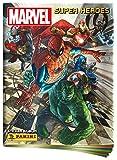 Panini France SA SA- Album + Pochettes de Rangement-Marvel Heroes, 2403-009