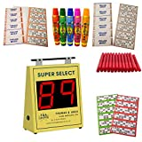 Image for board game Super Select Electronic Bingo Machine Starter Kit - All you need to play Bingo