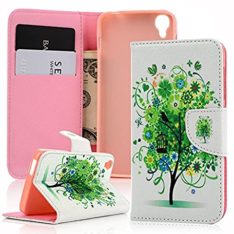 MAXFE.CO Alcatel OneTouch IDOL 3 (4.7 pouces) Etui Cuir-Etui à
