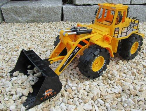 RC Auto kaufen Baufahrzeug Bild: RC Bagger Radlader Jamara 1:10 Länge 32cm