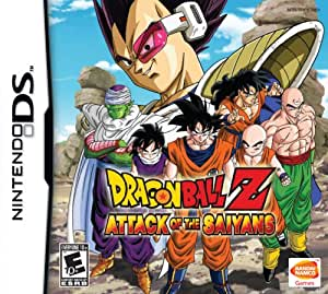 Dragon Ball: Attack of the Saiyans (Nintendo DS) (NTSC)