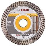 BOSCH Diamanttrennscheibe Best für Universal Turbo, 125 x 22,23 x 2,2 x 12 mm, 2608602672