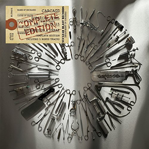 Carcass: Surgical Steel (Complete Edition) (Audio CD)
