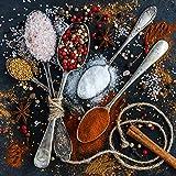 GOURMEO Gewürzmühle 2er Set mit verstellbarem Keramikmahlwerk – Edle Salz- und Pfeffermühle aus hochwertigem Edelstahl – für verschiedene Gewürze einsetzbar - 6